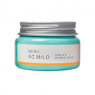 Skin & AC MILD Sebum – X Mirror Cream