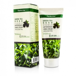 Green tea visible difference hand cream