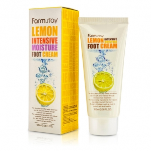 Lemon intensive moisture foot mask