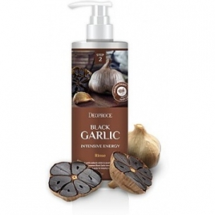 Black garlic rinse