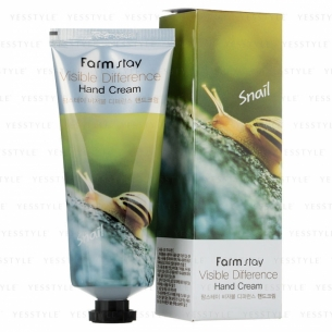 Snail visible difference hand cream