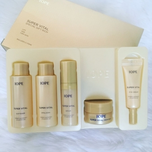 Iope Super Vital Cream Bio Excellent Rich Trial Kit
