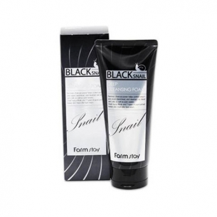 FarmStay Black Snail Deep Cleansing Foam